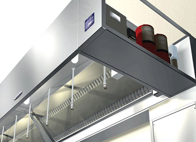 Kitchen Hood Suppression Systems