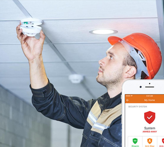 Fire Alarm application interface